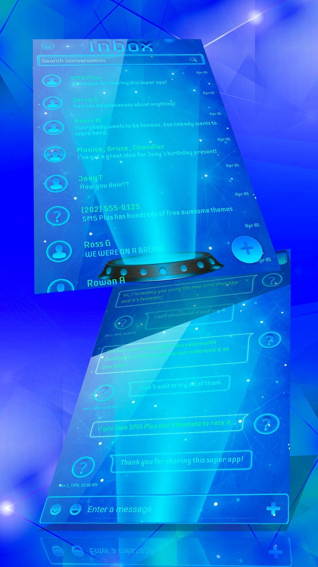 SMS Hologram HD poster