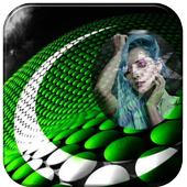 Pakistan Flag Photo Frames icon