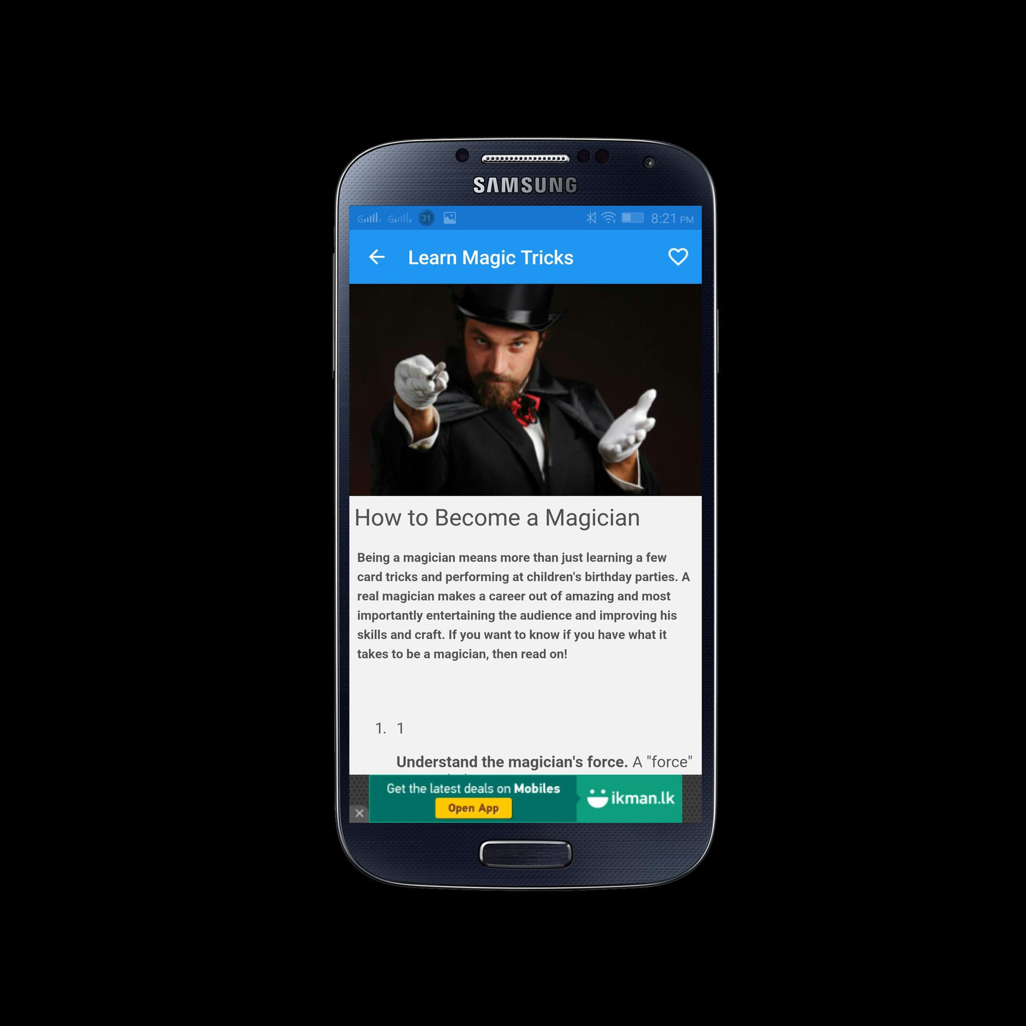 Learn Magic Tricks for Android - APK Download