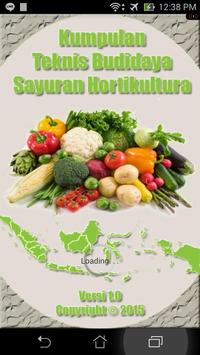 Budidaya Sayuran Hortikultura poster