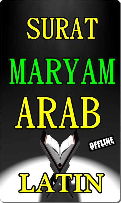Surat Maryam Arab Latin Terlengkap For Android Apk Download