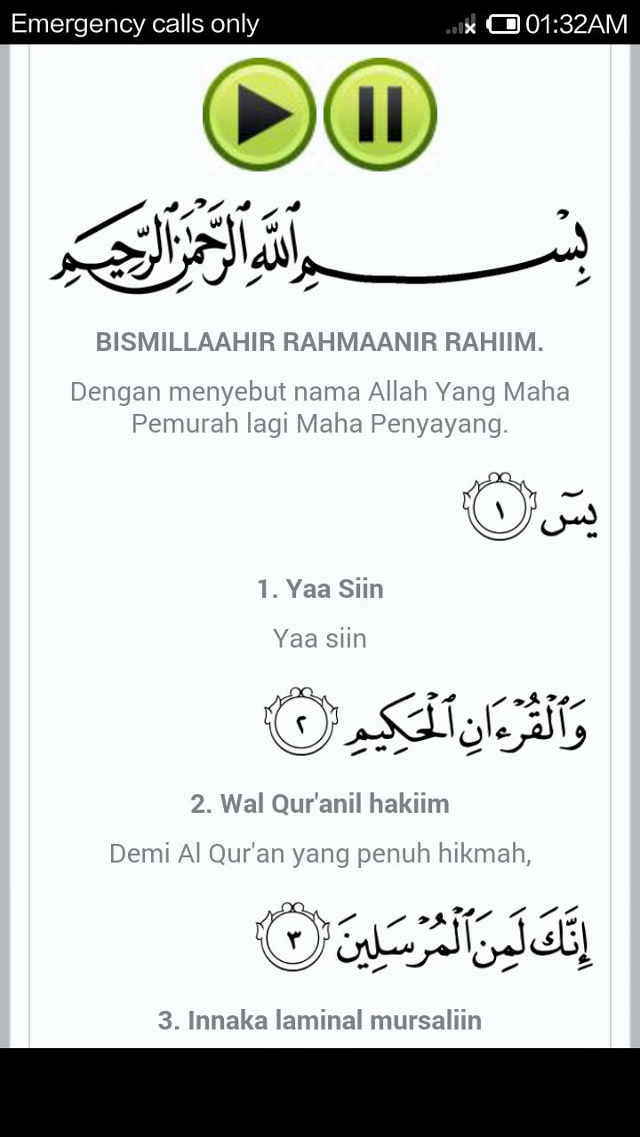 Surat Yasin Latin For Android Apk Download