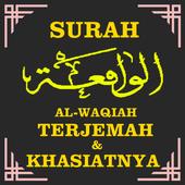 Surah Al-Waqiah Terjemahan & Khasiatnya icon