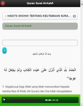Surah Al-Kahf MP3 apk screenshot