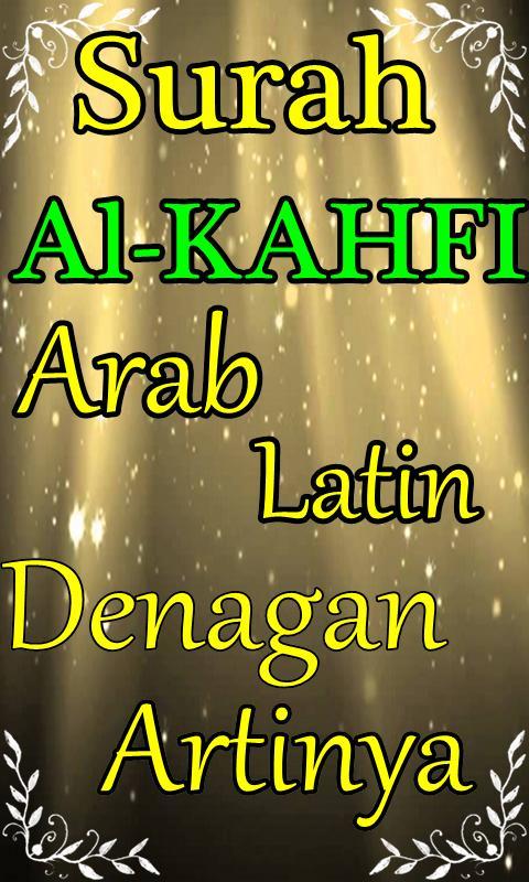 Surah Al Kahfi Arab Latin Komplit Dengan Artinya For