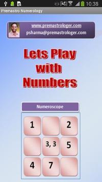 AstroPrem Numerology poster