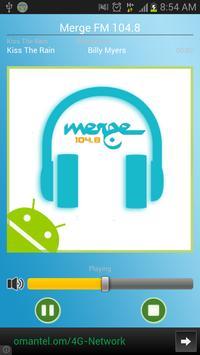 Oman Merge FM 104.8 poster