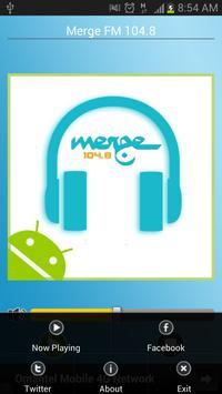 Oman Merge FM 104.8 screenshot 1