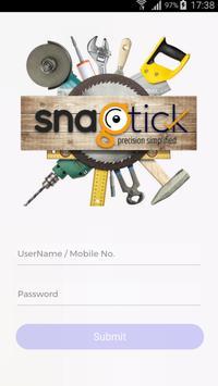 Snagtick-app poster