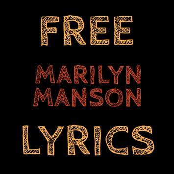 Free Lyrics for Marilyn Manson apk screenshot