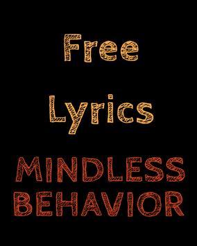 Mindless Behavior Free Lyrics poster
