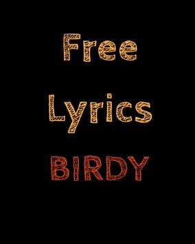 Free Lyrics for Birdy poster