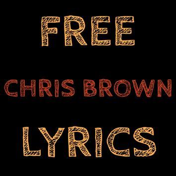 Free Lyrics for Chris Brown apk screenshot