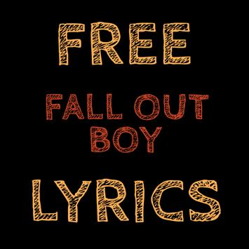 Free Lyrics for Fall Out Boy apk screenshot