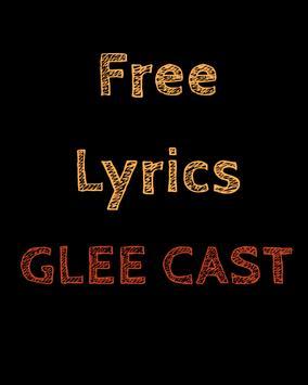 Free Lyrics for Glee Cast poster