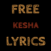 Free Lyrics for KE$HA (Kesha) icon