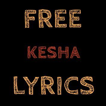 Free Lyrics for KE$HA (Kesha) apk screenshot