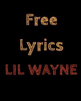 Free Lyrics for Lil Wayne poster