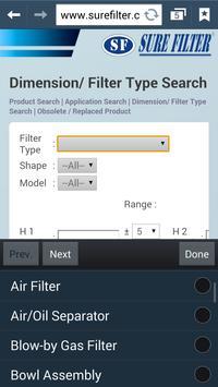 Surefilter Technology apk screenshot