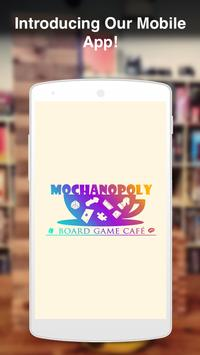 Mochanopoly Board Game Cafe poster