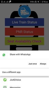 Live Train Status and PNR Check 2018 screenshot 3