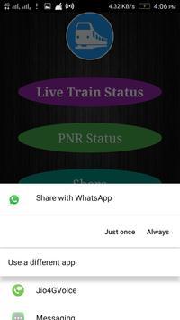 Live Train Status and PNR Check screenshot 3