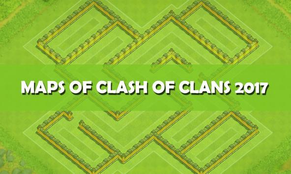 Maps of Clash of Clans 2017 apk screenshot