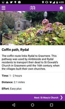 Cumbrian Heritage Trails poster