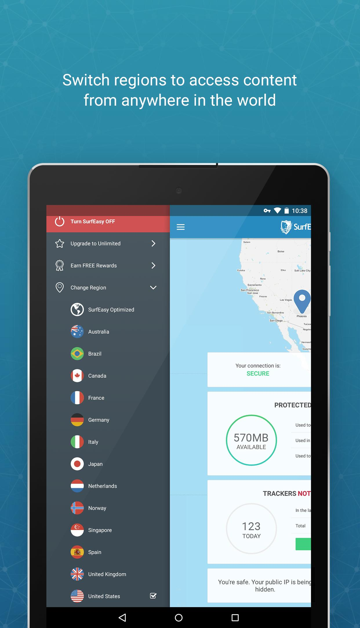 SurfEasy for Android - APK Download