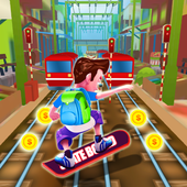 Rail Train Surfer Rush 🏄‍ icon