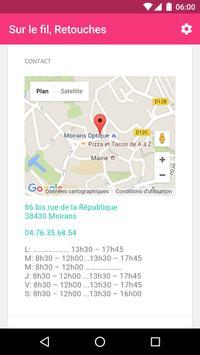 Sur le fil, retouches apk screenshot
