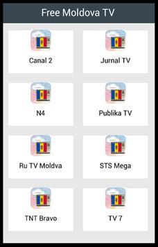 Free Moldova TV poster