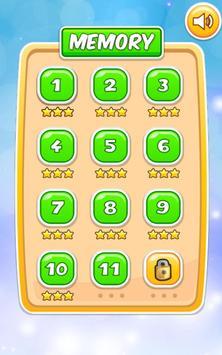 Memory Cartoon Game for Kids screenshot 22
