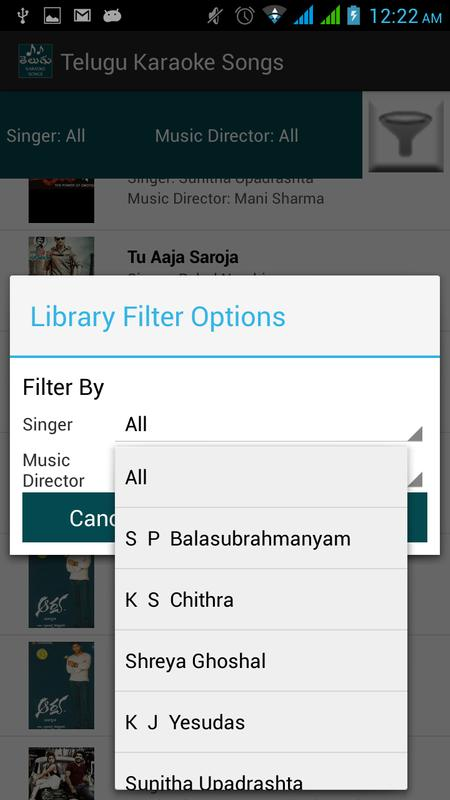 Telugu Karaoke Songs for Android - APK Download