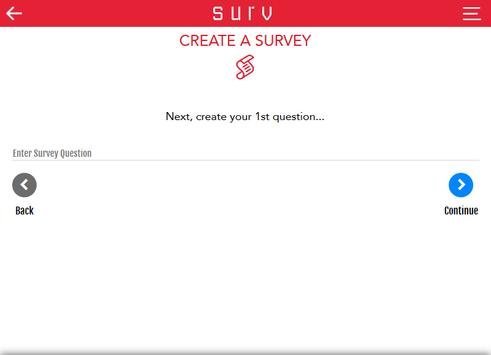 Survey App apk screenshot
