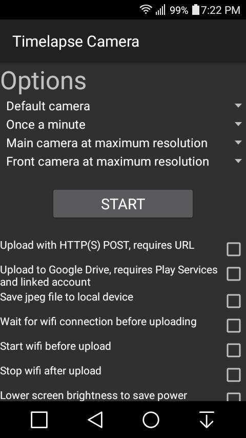 Network Timelapse Camera GPL for Android - APK Download