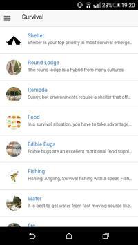 Offline Survival Guide apk screenshot