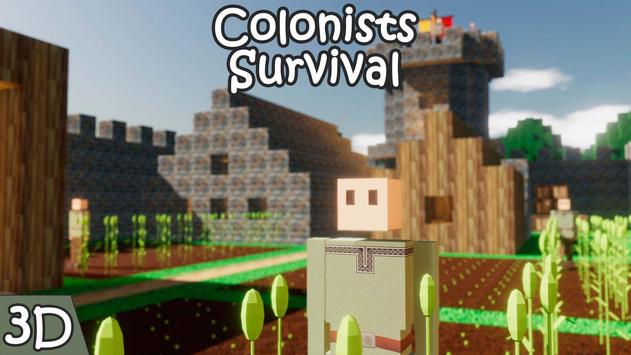 Colonists Survival poster