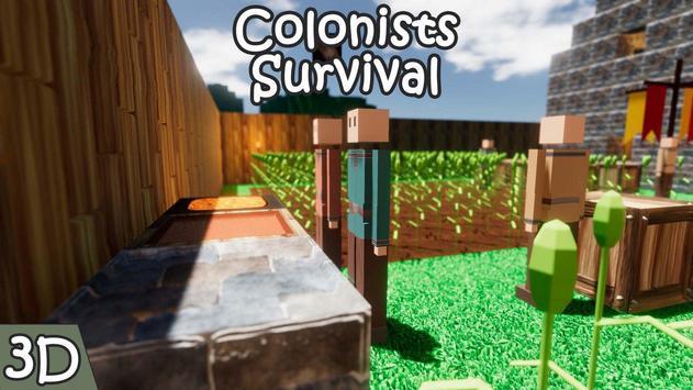 Colonists Survival screenshot 1