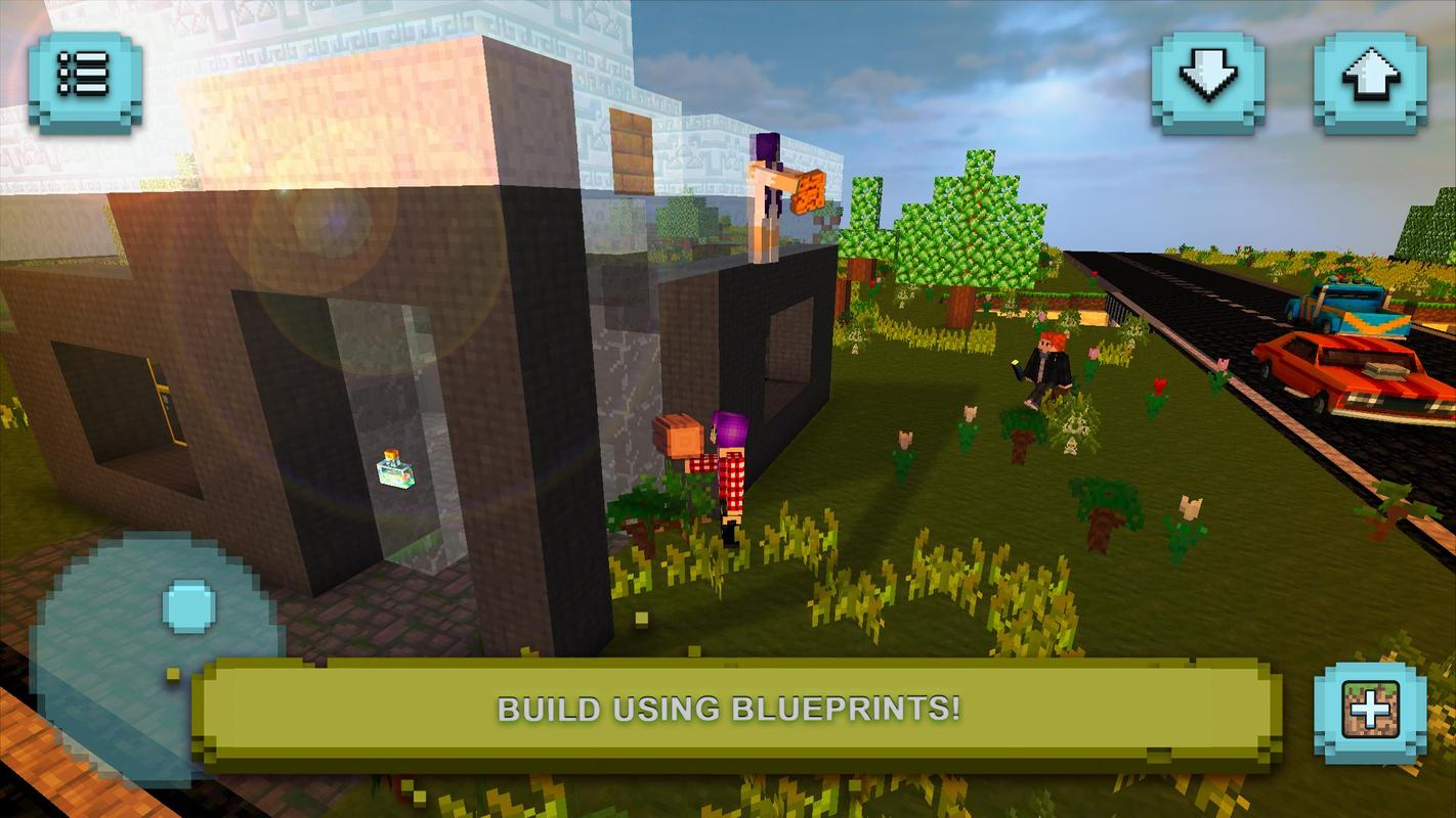 Builder craft house building exploration apk download for House building simulator online