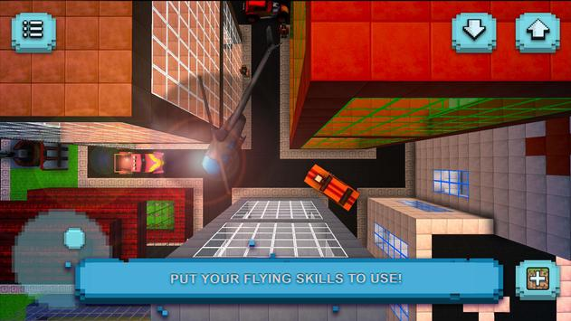 Helicopter Craft: Flying & Crafting Game 2017 apk screenshot