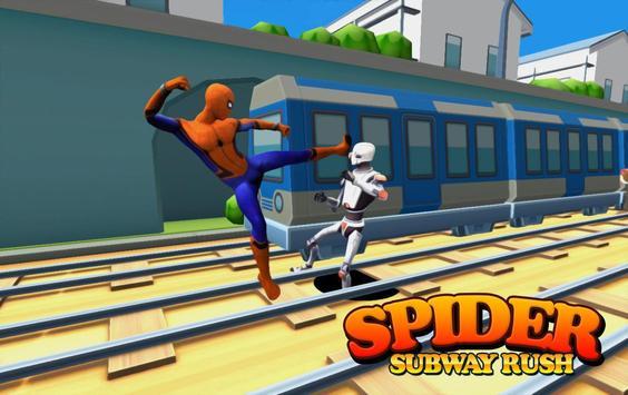Subway Spider-man Surf screenshot 2