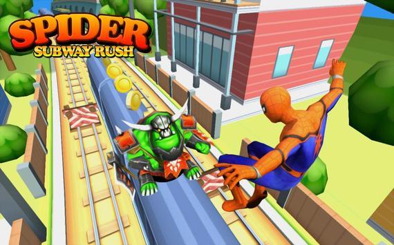 Subway Spider-man Surf screenshot 4