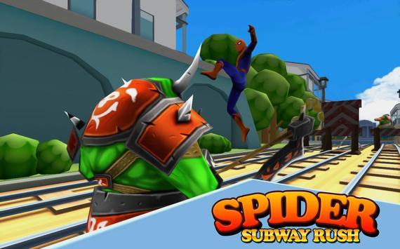 Subway Spider-man Surf screenshot 5
