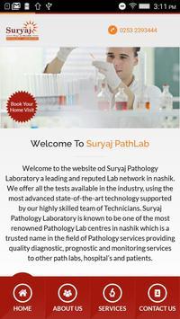 Suryaj Pathology Laboratory poster