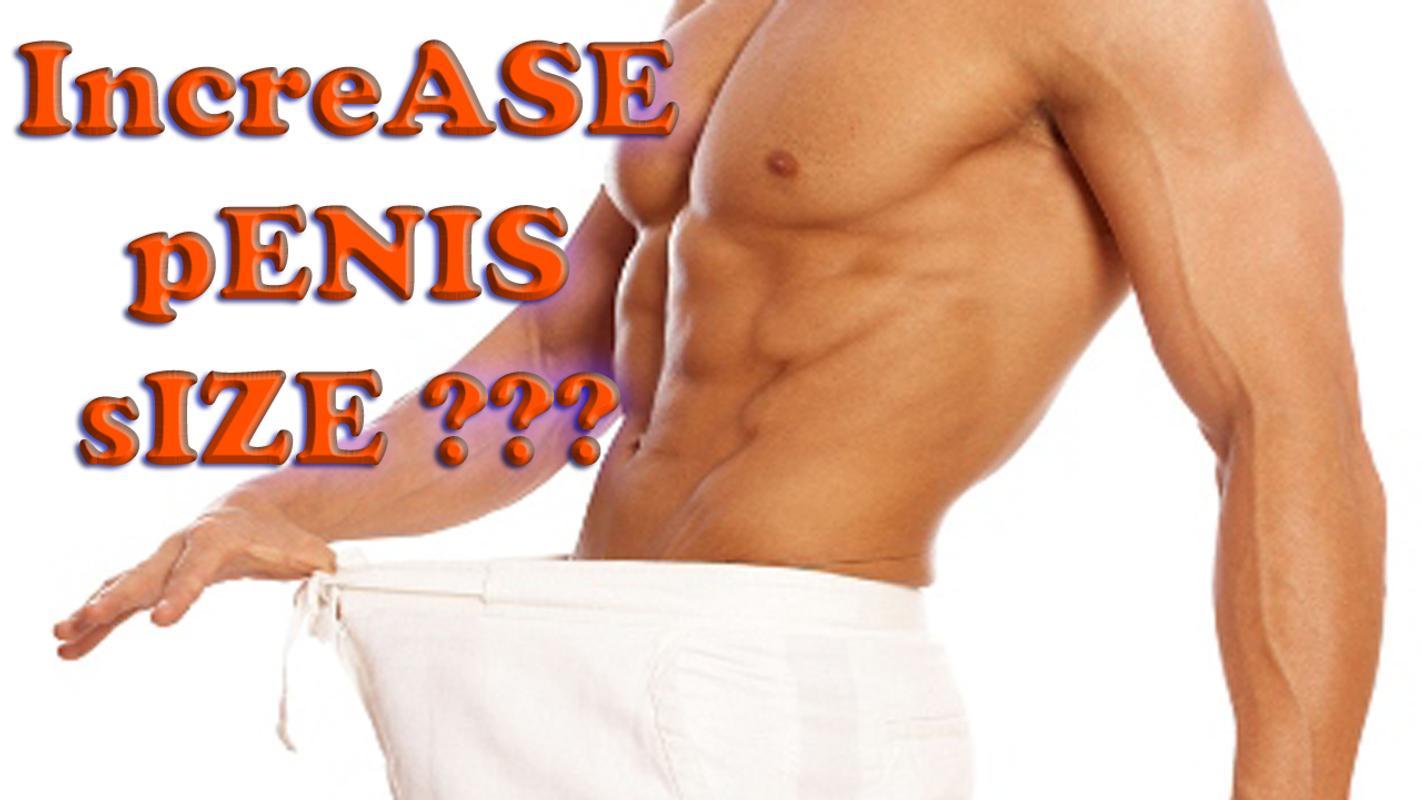 Penis Enlargement : Penis Size Increase poster ...