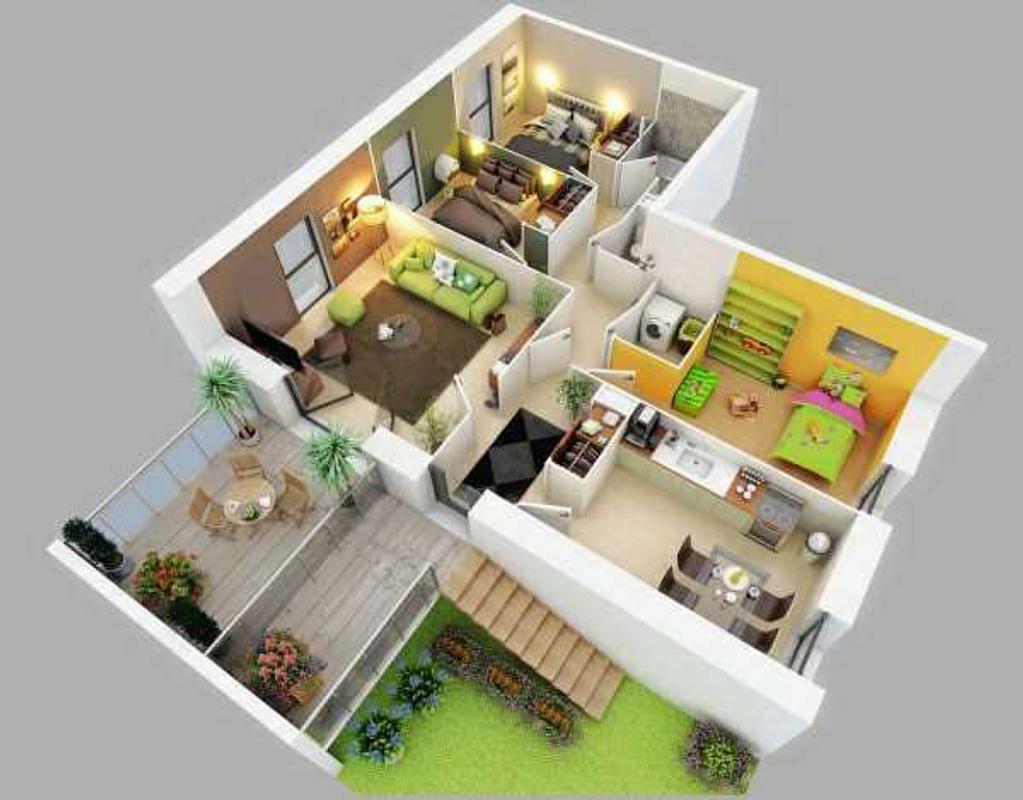 conception de maison 3d pour android t l chargez l 39 apk. Black Bedroom Furniture Sets. Home Design Ideas