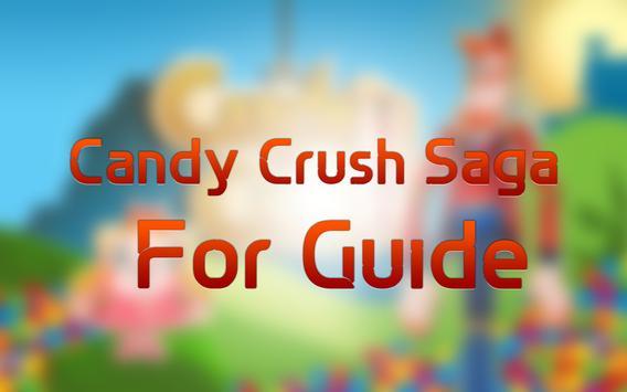 Guide for Candy Crush Saga screenshot 1