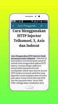 HTTP Injektor (ssh,proxy,vpn) apk screenshot
