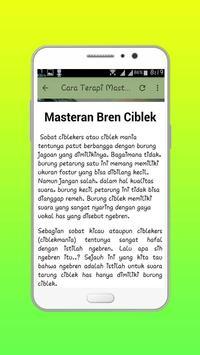 Master Ciblek Lengkap apk screenshot